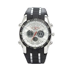 u s polo assn watches kohl s u s polo assn mens analog digital chronograph watch us9061b