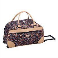 Gloria Vanderbilt 20-Inch Wheeled Carry-On