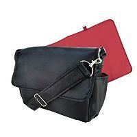 Trend Lab Black Messenger Diaper Bag
