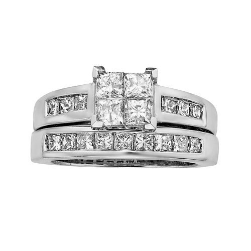... Wang Diamond Halo Engagement Ring in 14k White Gold (13 ct. T.W