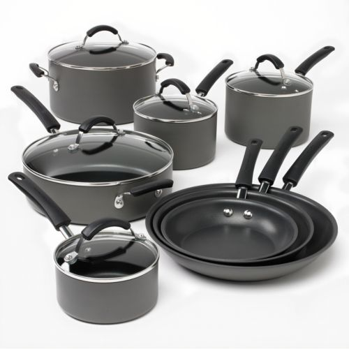 Food Network™ 13-pc. Hard-Anodized Nonstick Cookware Set
