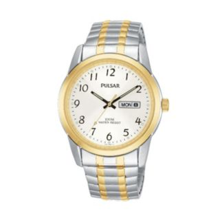 Pulsar Men's Two Tone Stainless Steel Watch