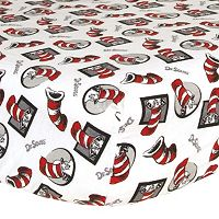 Dr. Seuss The Cat In The Hat Crib Sheet by Trend Lab