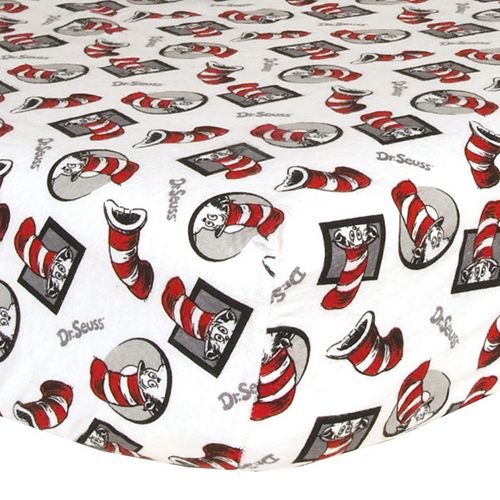 Dr Seuss The Cat In The Hat Crib Sheet By Trend Lab