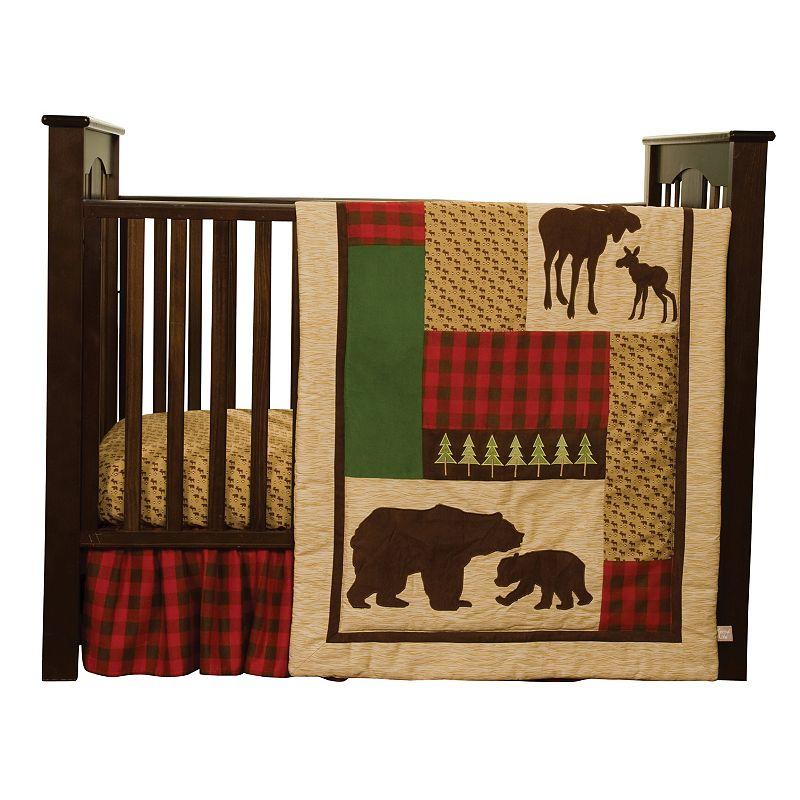 Trend Lab Northwoods 3-pc. Crib Bedding Set, Beige/Khaki