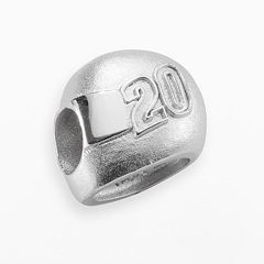 Insignia Collection NASCAR Matt Kenseth Sterling Silver '20' Helmet Bead