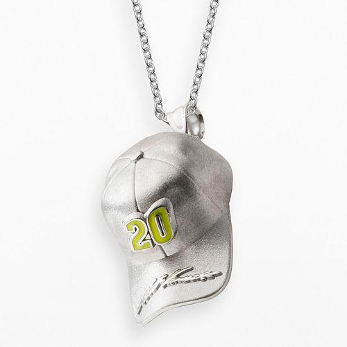 "Insignia Collection NASCAR Matt Kenseth Sterling Silver ""20"" Baseball Cap Pendant"