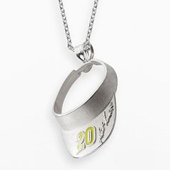 Insignia Collection NASCAR Matt Kenseth Sterling Silver '20' Visor Pendant