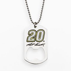 Insignia Collection NASCAR Matt Kenseth Stainless Steel '20' Bottle Opener Dog Tag