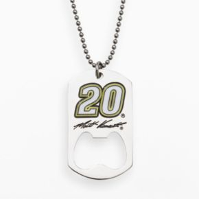Insignia Collection NASCAR Matt Kenseth Stainless Steel 20 Bottle Opener Dog Tag