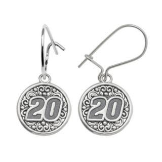 Insignia Collection NASCAR Matt Kenseth Sterling Silver 20 Drop Earrings