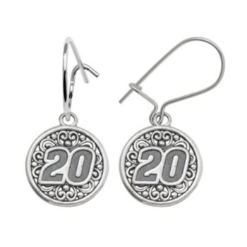 Insignia Collection NASCAR Matt Kenseth Sterling Silver 20 Drop Earrings