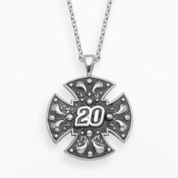 Insignia Collection NASCAR Matt Kenseth Sterling Silver 20 Maltese Cross Pendant