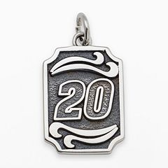Insignia Collection NASCAR Matt Kenseth Sterling Silver '20' Pendant
