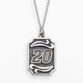 Insignia Collection NASCAR Matt Kenseth Sterling Silver 20 Pendant