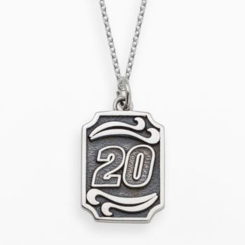 Insignia Collection NASCAR Matt Kenseth Sterling Silver 20 Pendant