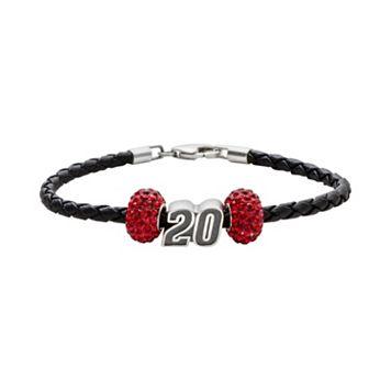 Insignia Collection NASCAR Matt Kenseth Leather Bracelet & Bead Set