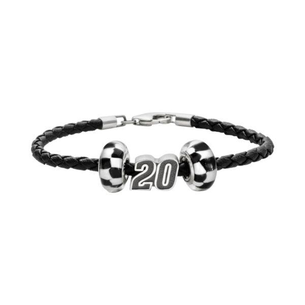 Insignia Collection NASCAR Matt Kenseth Leather Bracelet
