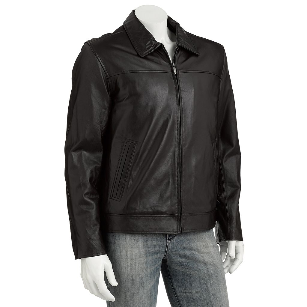 Men's Excelled Leather Hipster Jacket