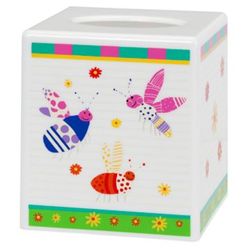Creative Bath Cute as a Bug Tissue Cover