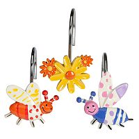 Creative Bath Cute as a Bug 12-pk. Shower Curtain Hooks