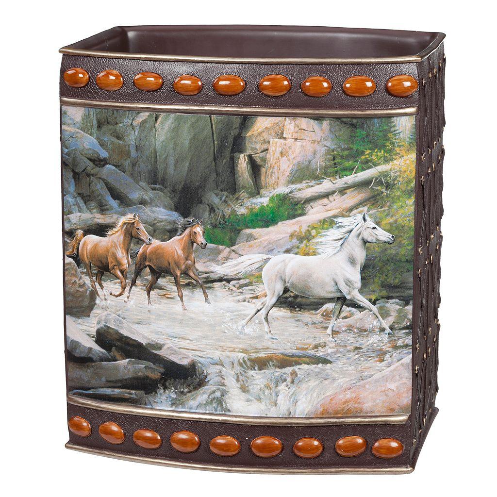 Hautman Brothers Horse Canyon Wastebasket