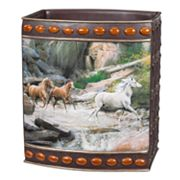 Hautman Brothers Horse Canyon Wastebasket