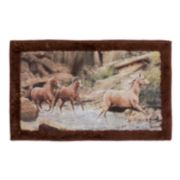 Hautman Brothers Horse Canyon Bath Rug
