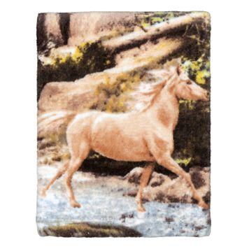 Hautman Brothers Horse Canyon Fingertip Towel
