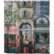 Creative Bath Rue De Rivoli Fabric Shower Curtain