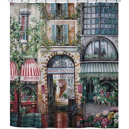 Creative Bath Rue De Rivoli Fabric Shower Curtain