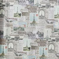 Creative Bath Travelers Journal Fabric Shower Curtain