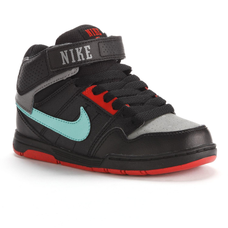 Nike Grey Mid Morgan 2 Jr. Athletic Shoes - Pre-School Boys
