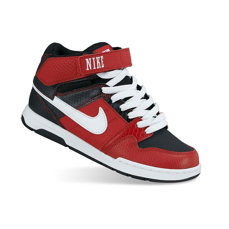 cheap for discount 358f0 59ab1 Nike Red Mid Mogan 2 Jr. Skate Shoes - Boys