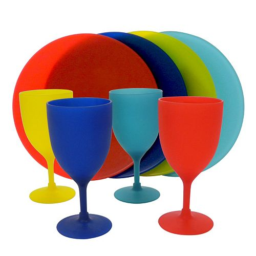 SONOMA Goods for Life™ 8-pc. Wine & Plate Party Set