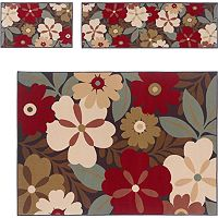 KHL Rugs 3-pc. Laguna Floral Rug Set