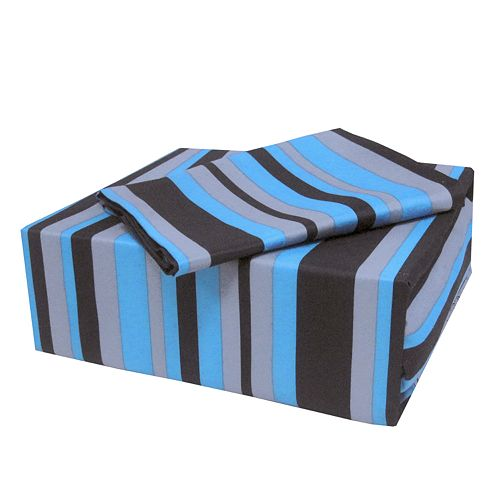 Veratex On the Edge Striped Sheet Set - XL Twin