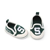 Baby Michigan State Spartans Crib Shoes