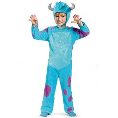 Disney \/ Pixar Monsters University Sulley Classic Costume Toddler\/Kids by