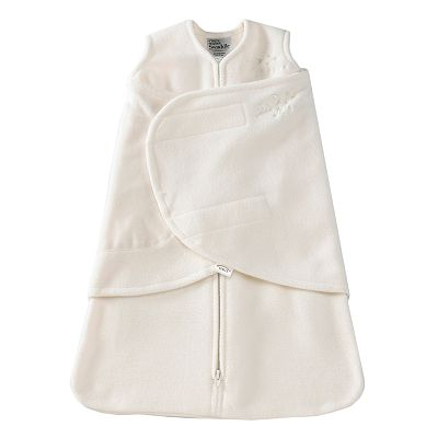 HALO Fleece SleepSack Swaddle - Cream
