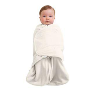 HALO Fleece SleepSack Swaddle - Cream