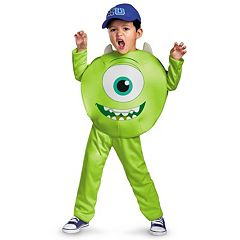 Disney \/ Pixar Monsters University Mike Classic Costume Toddler\/Kids by