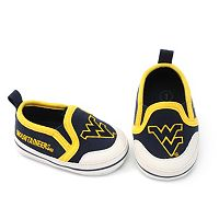 West Virginia Mountaineers Crib Shoes - Baby
