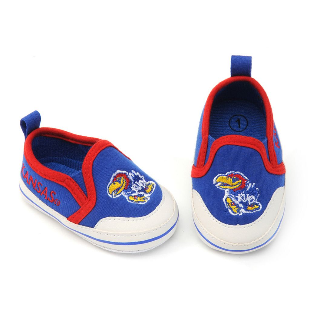 Baby Kansas Jayhawks Crib Shoes