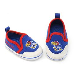 Baby Kansas Jayhawks Crib Shoes