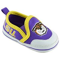 Baby LSU Tigers Crib Shoes