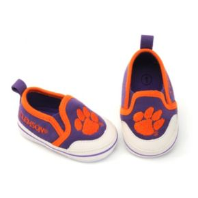 Baby Clemson Tigers Crib Shoes