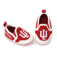 Baby Indiana Hoosiers Crib Shoes