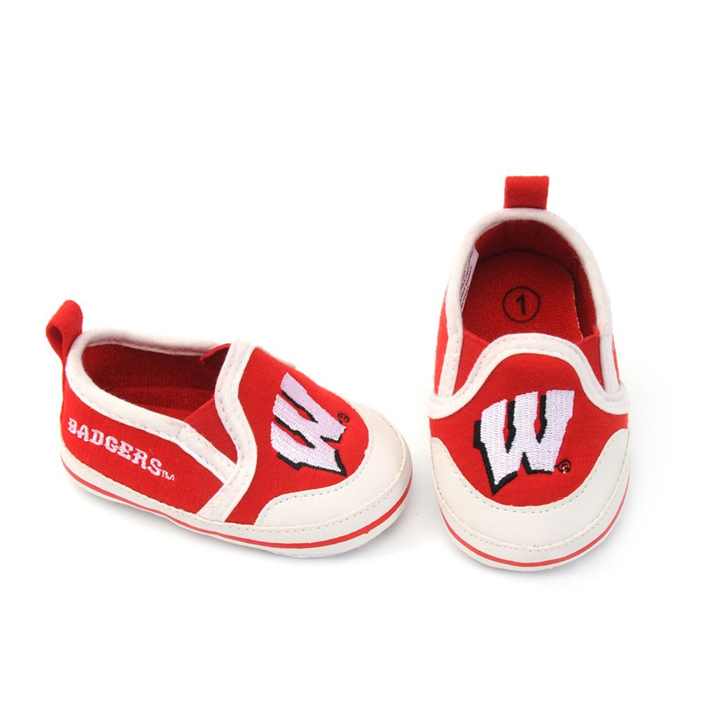 Baby Wisconsin Badgers Crib Shoes