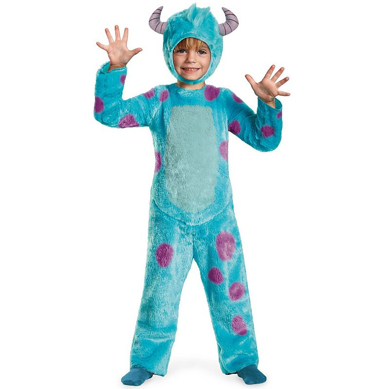 Disney / Pixar Monsters University Sulley Deluxe Costume - Toddler/Kids (Blue)